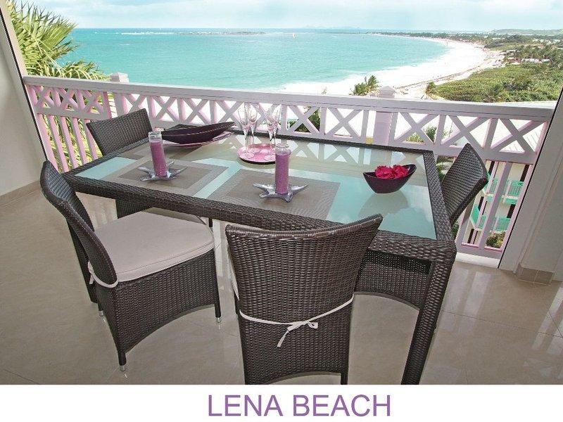Lena Beach Condo on Orient Beach, holiday rental in Orient Bay