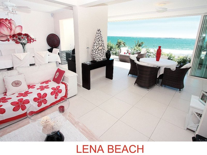 Lena Beach Suite with Ocean View on Orient Bay, holiday rental in Orient Bay