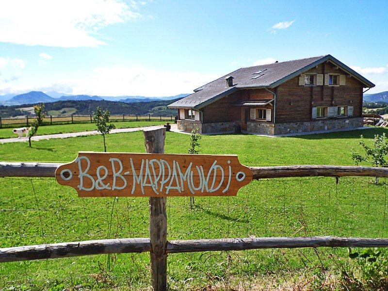 B&B Mappamundi, via degli dei, strada romana – semesterbostad i Monghidoro