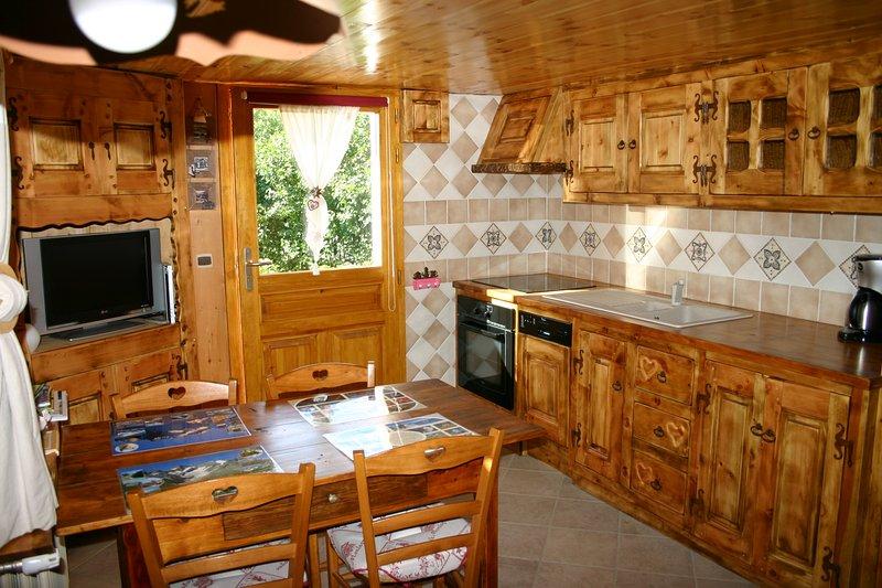 Gîte L'ancolie, Briançon Serre- Chevalier, holiday rental in Briançon