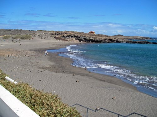 Beach abbots. An ideal place to read, enjoy the sun, diving and for long walks.
