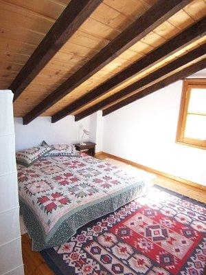 O quarto no andar de cima