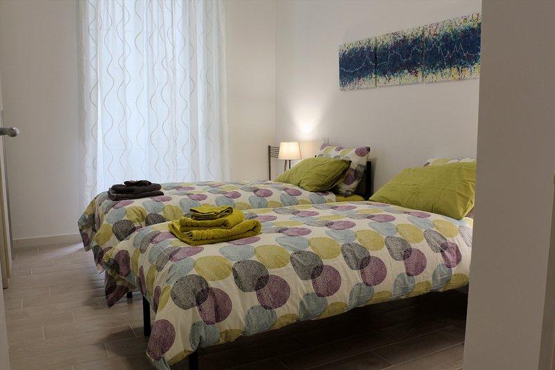 Camera da letto (versione con due letti singoli)