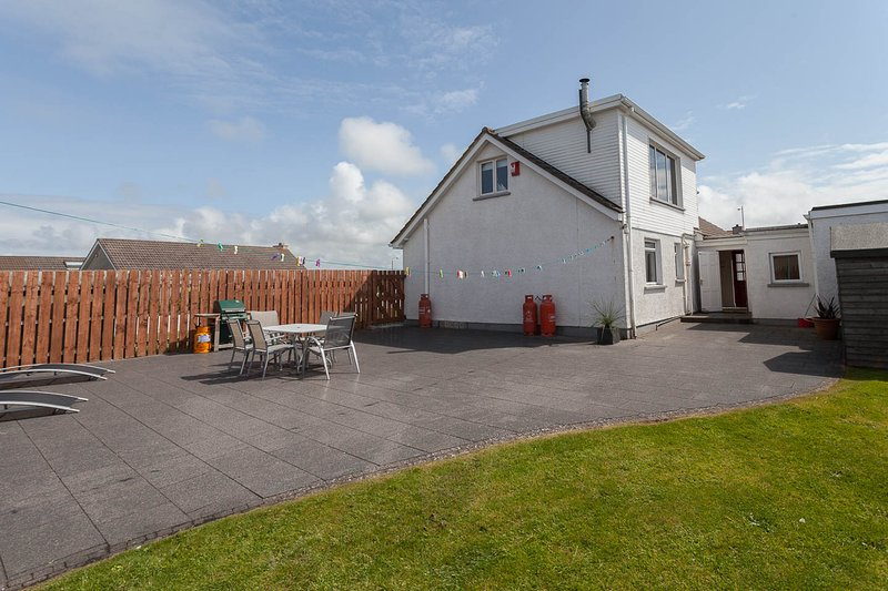 Large garden /patio / BBQ area which is fully enclosed for children's safety and your own privacy