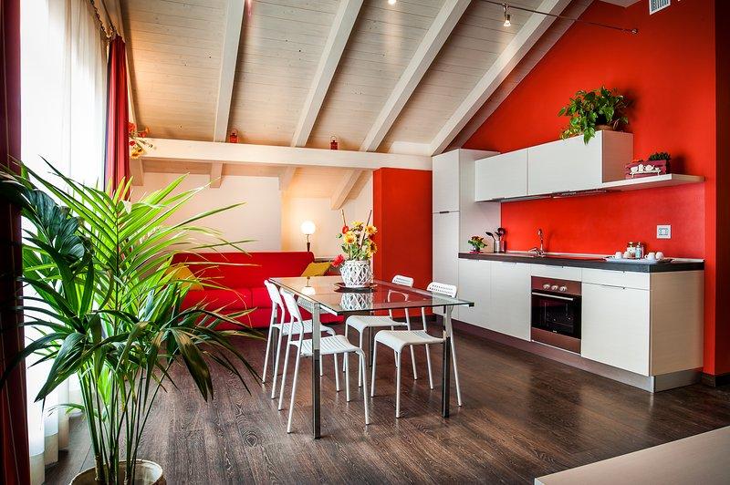 Arc en Ciel Appartamenti vacanze Cocconato, Ferienwohnung in Capriglio
