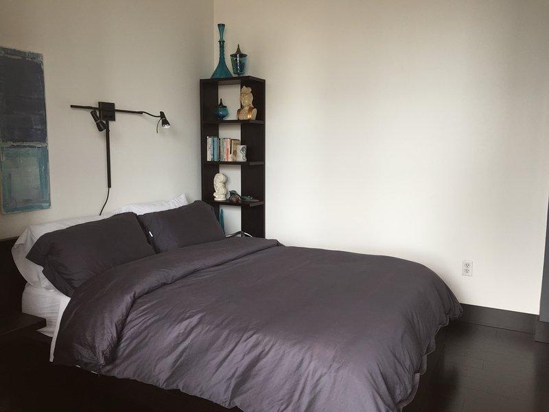 Sleep comfortably in Queen size bed