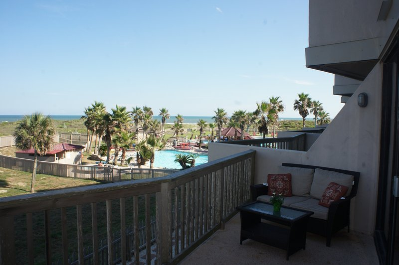 Pool and ocean view directly from your balcony!