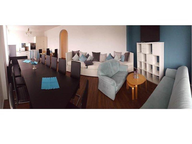 475m2 Penthouse Wellness 2xSauna Spa 175m2 terrace, holiday rental in Bottrop