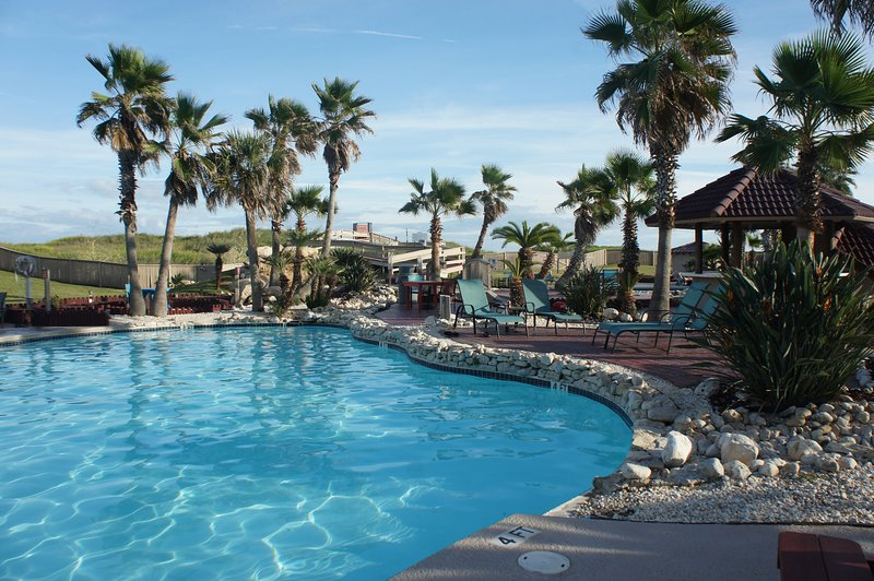 It is a beautiful, tropical environment when you are enjoying our pools!