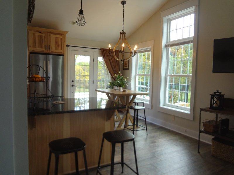 Open Floor Living Space.  High Ceilings