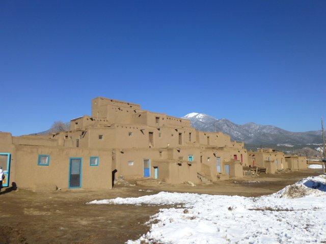 Taos Pueblo-a Património Mundial da Comunidade-Native American única vivendo pela UNESCO, 6 mi. a partir de casa