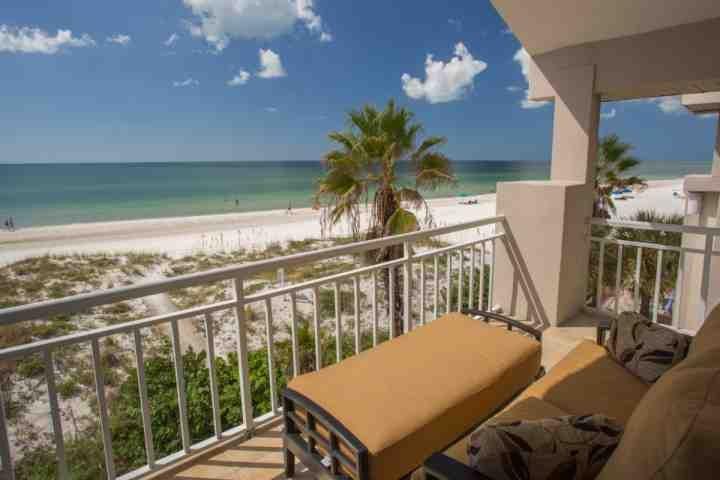 Master Bedroom balcone che si affaccia sul Golfo del Messico