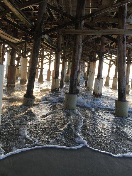 Cocoa Beach Pier 3 miles north of condo