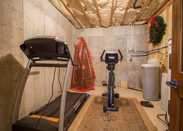 Treadmill & Stationary Bike