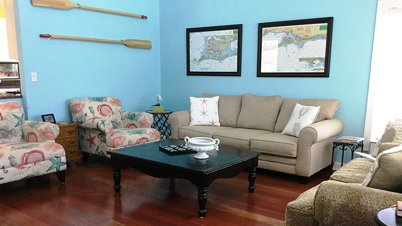 Living Room with New Furnishings