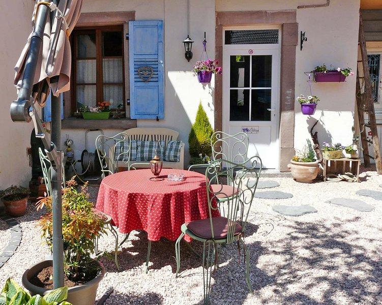 Gîte 'colchique' *** proche Strasbourg, casa vacanza a Gries