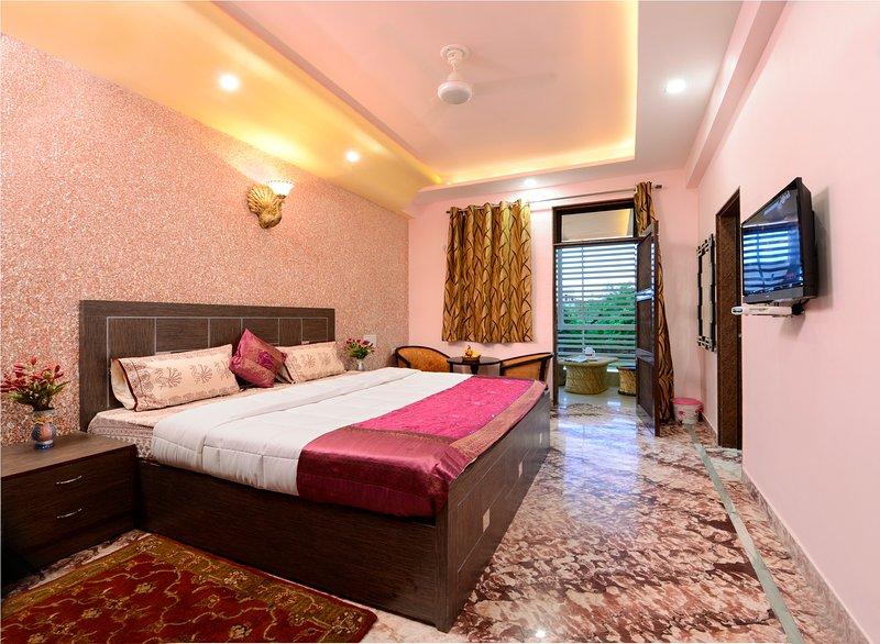 rainbow home stay, alquiler vacacional en Agra