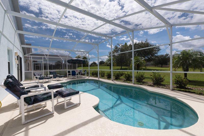 Godetevi il sole sul ponte piscina esposto a sud!