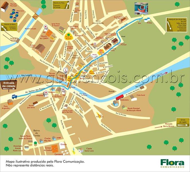 Como llegar (mapa)