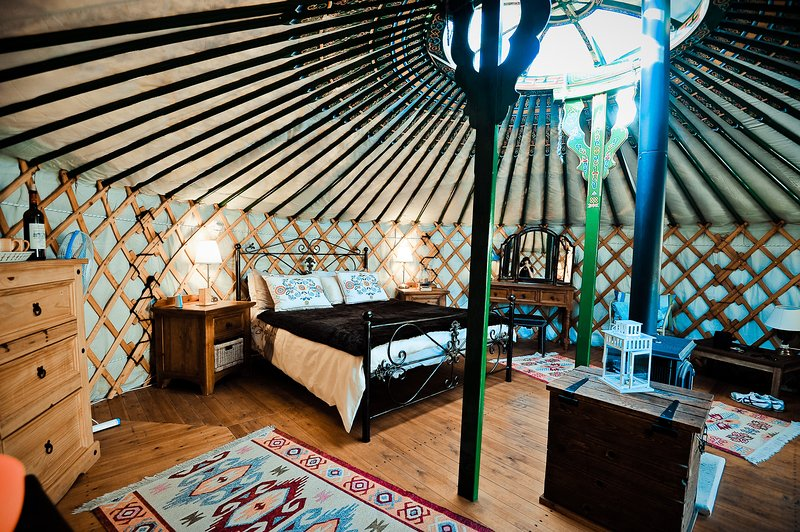 Yurts in Cyprus - Nasu Yurt, holiday rental in Paphos District