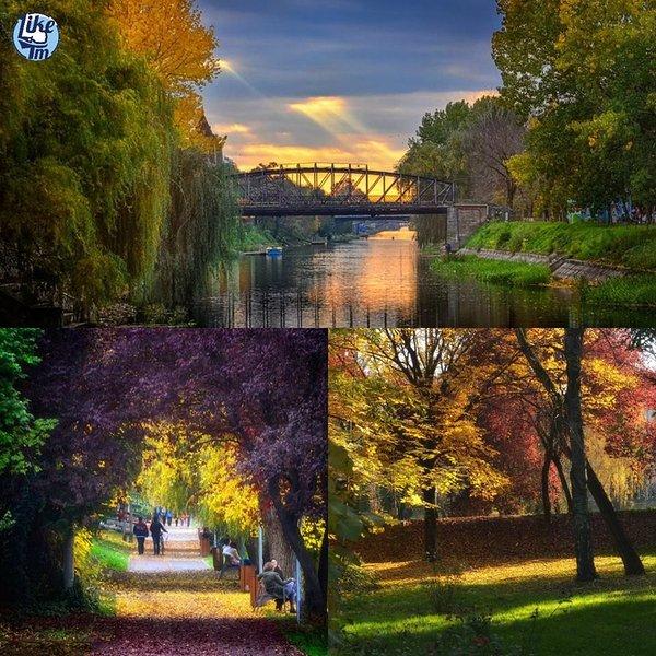 Meu bairro: Central Park & ponte metálica para pedestres (Podul Paris)