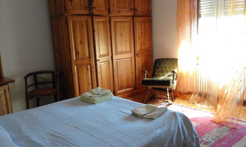 dormitorio con la posibilidad de camas gemelas