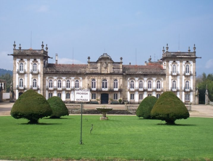 Brejoeira Palace in Moncao, county seat