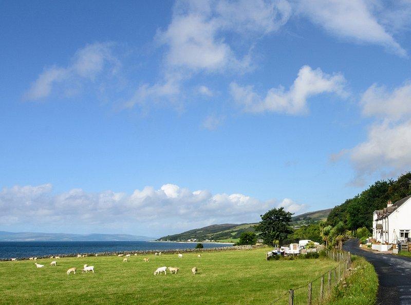 Vista desde Westfield hacia Pirnmill