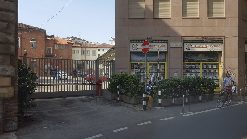 Parking Entrance from Via Dell'Unione - Parking entrance from Via Dell'Unione
