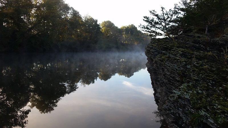 vue rivière Bluff