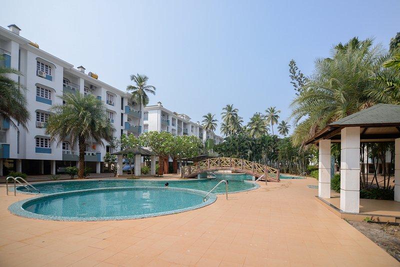TripThrill Akar Excelsior 1 Bedroom Apartment, alquiler vacacional en Colva