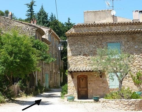 Photo route / itinerary Place hamlet Muraires
