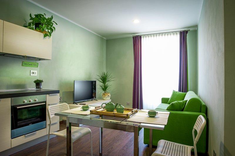 Arc en Ciel Appartamenti Vacanze Cocconato, alquiler de vacaciones en Berzano di San Pietro