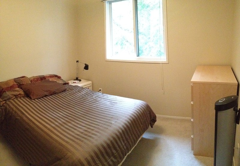 Bedroom with space