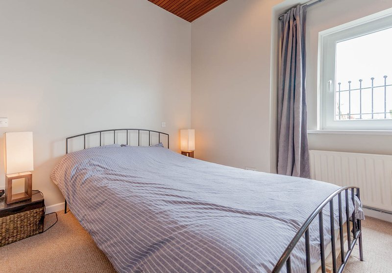 Second bedroom has sea views to the front and the side.