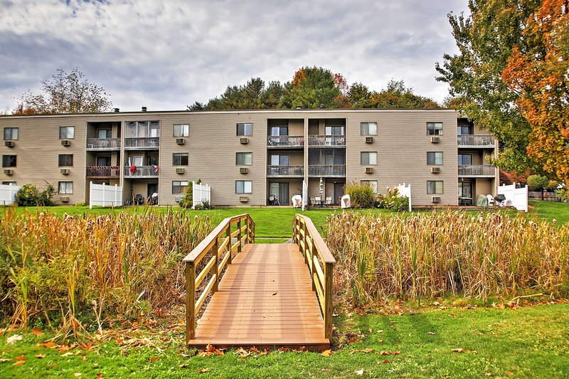Marvel at the beauty of nature surrounding the condo.