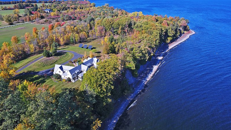 Offering a private location on 7 acres of land and over 600 feet of direct Lake Champlain frontage, you're guaranteed a fantastic experience!