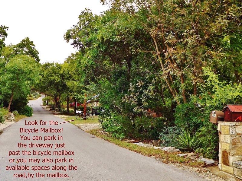 A venir la voie ... chercher la boîte aux lettres de vélos ... vous êtes arrivés!