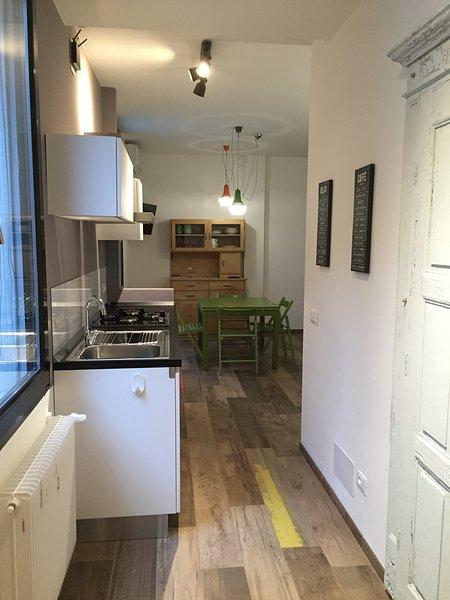 Appartamento completamente rinnovato nel centro storico di Trento.