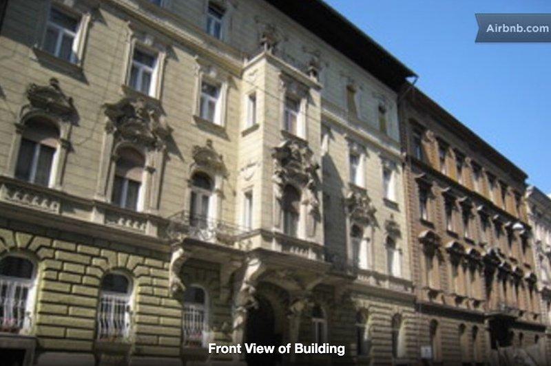 Budapest City Centre Apartments, alquiler vacacional en The Republic of Zubrowka