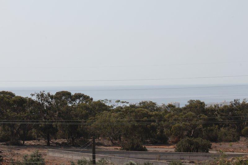 Ayia Napa coastline and forest of Ayios Antonis.
