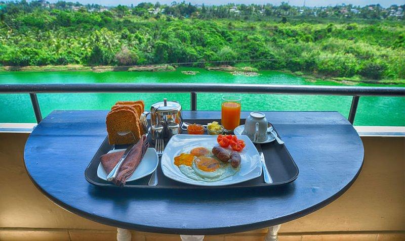 Frühstück mit Aussicht!