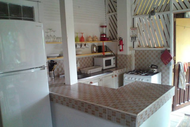Cinnamon kitchen area