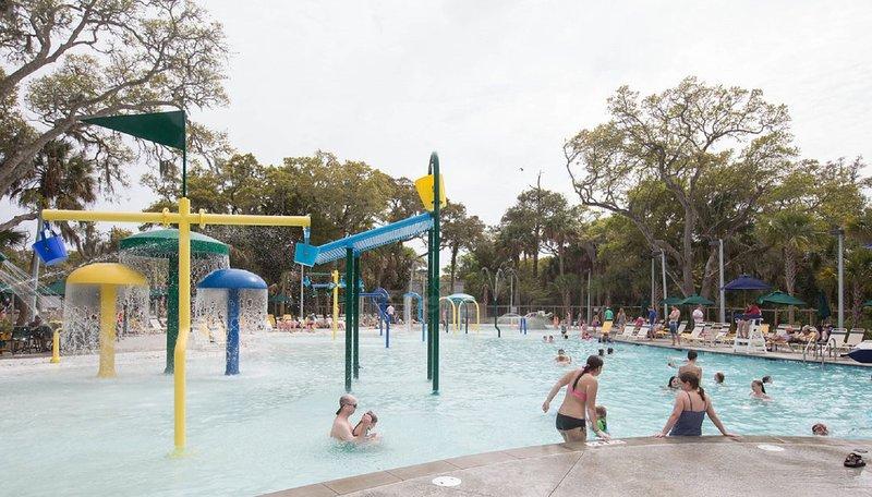 L'un des deux parcs enfants d'eau
