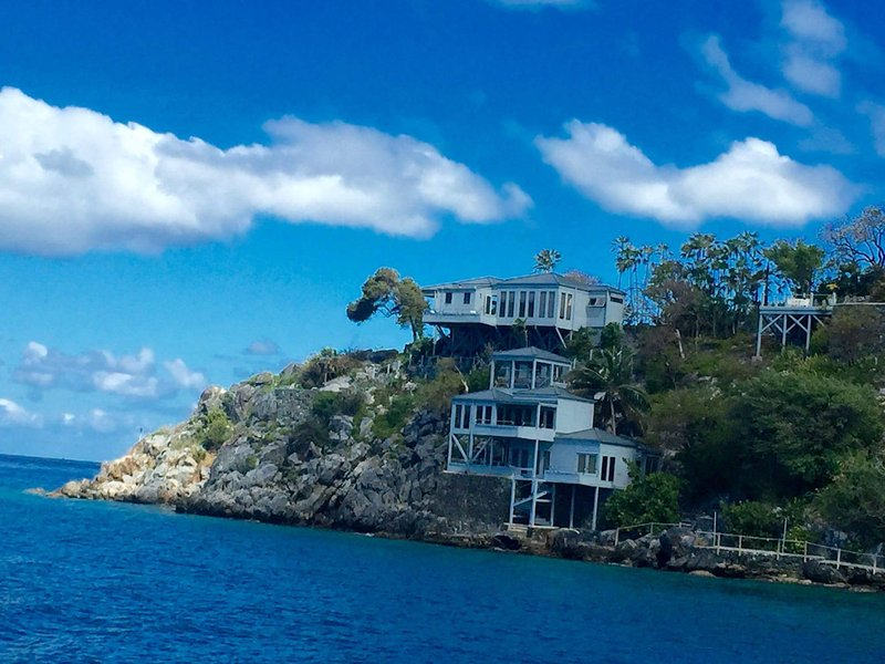 Steele Point, iconic villa of the Caribbean.