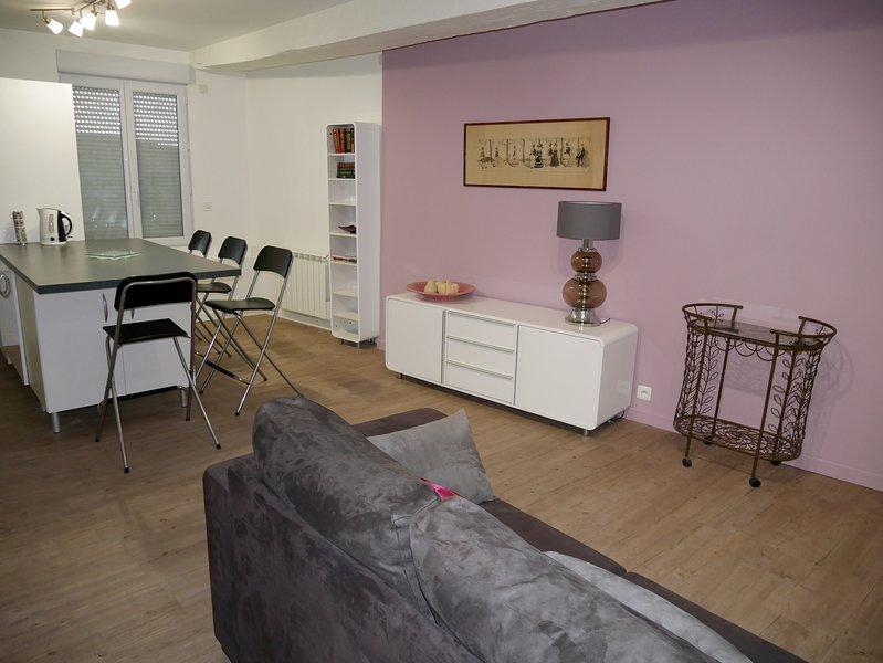 Grand appartement 5mn à pied centre Périgueux (6p), aluguéis de temporada em Atur