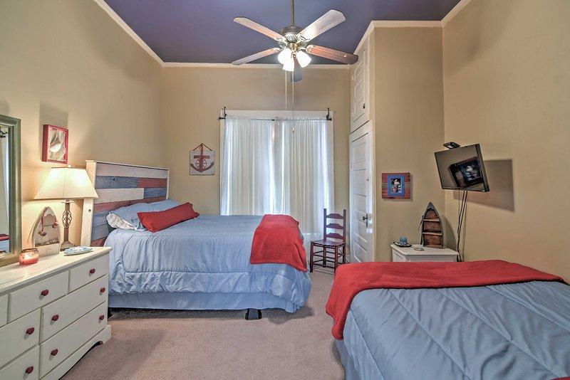 Il vostro gruppo sarà comodo nelle camere doppie!