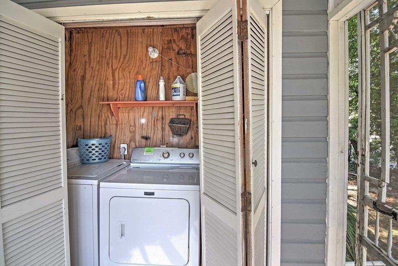 In unità di lavatrici permettono si pack luce!