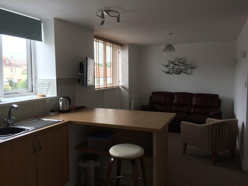 lounge/kitchen flat 2