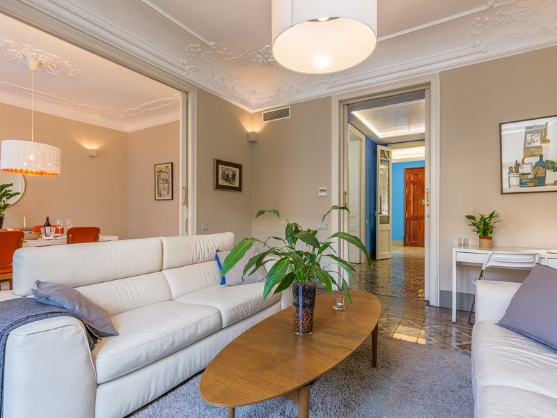 MONTABER EIXAMPLE - Elegant and luxury apartment, vacation rental in Barcelona